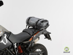 Drybag Rollbag - 25L Grey  Black (2)