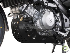 Engine Guard - black (must be mounted with Crashbars) Suzuki DL 1000