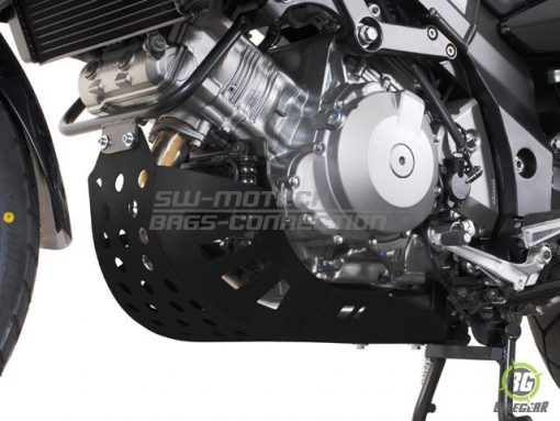 Engine Guard – black (must be mounted with Crashbars) Suzuki DL 1000