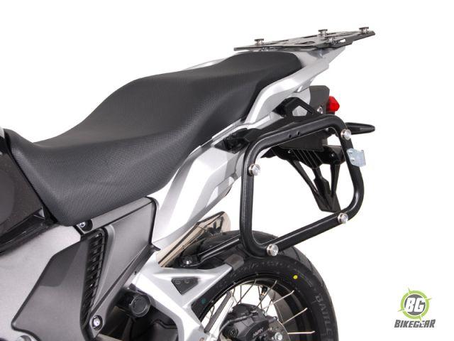 sw motech quick lock side carrier honda vfr 1200 x crosstourer bikegear. Black Bedroom Furniture Sets. Home Design Ideas