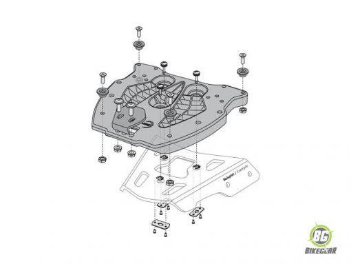 Trax Adaptor Plate 400 Kit (1)