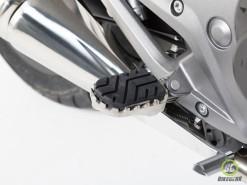 Wide Footpeg Kit - Honda NC 700 X  1200 Crosstourer (1)