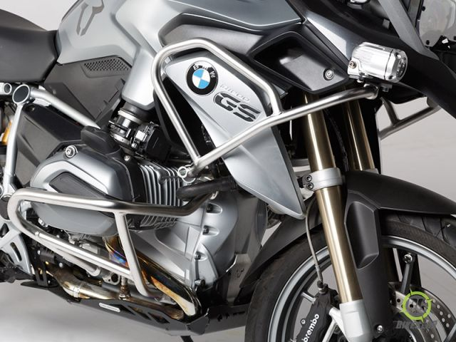 sw motech stainless steel upper crashbars bmw r1200gs lc. Black Bedroom Furniture Sets. Home Design Ideas