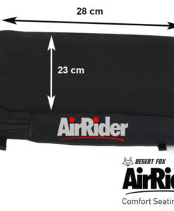 Air Rider pillion dimensions