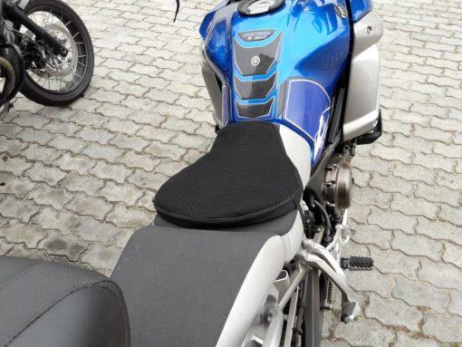 AirRider on dual purpose bike seat