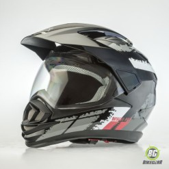 Desert Fox Enduro Black Decal (1)