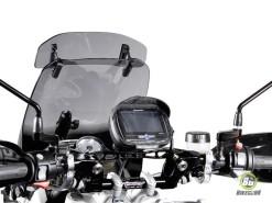 GPS BAG 135mm x 90mm x 25mm (With Sun Visor) (2)