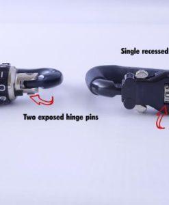 construction of different helmet locks