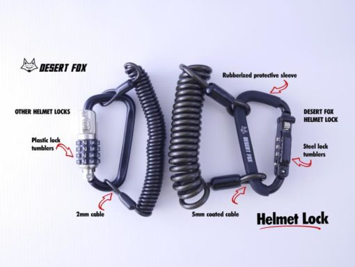 comparison of different types of helmet locks