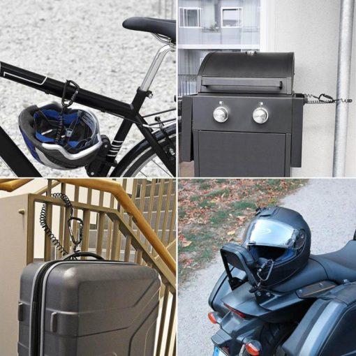 Helmet lock applications