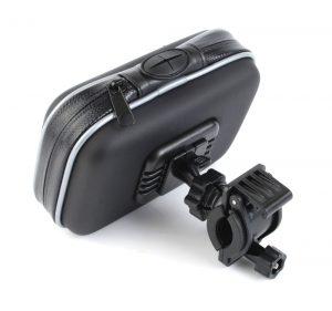 Motorcycle GPS Handlebar mount with bag