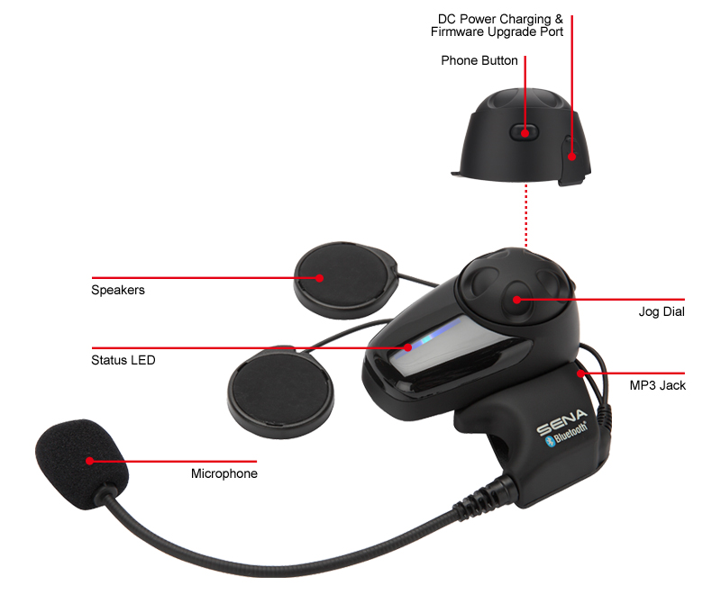 Sena Bluetooth system product details