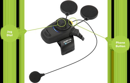 Sena Bluetooth communication with Jog Dial