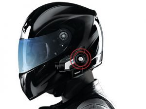 Motorcycle HD Cam on Helmet