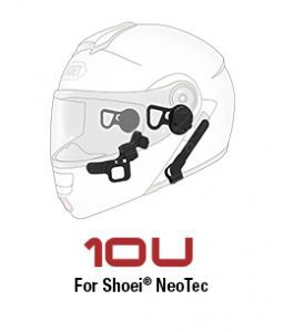 Sena Motorcycle communication for Shoei Neotec Helmets