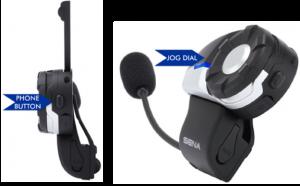 Sena Bluetooth communication two button system