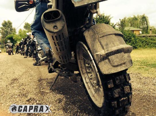 Dual Sport Motorcycle Rear Tyre