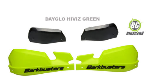 BARKBUSTER-ADVENTURE-MOTORCYCLE-HANDGAURDS-DAYGLO GREEN
