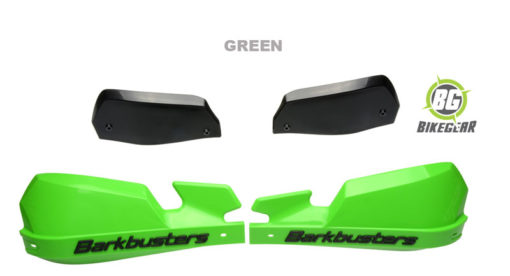 BARKBUSTER-MOTORCYCLE LEVER-HANDGAURDS-GREEN