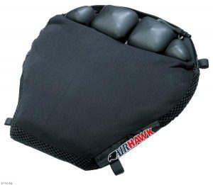 Cruiser motorcycle comfort seating