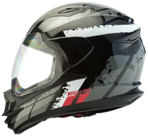 Desert Fox 3.1 motorcycle safety helmet side view full face