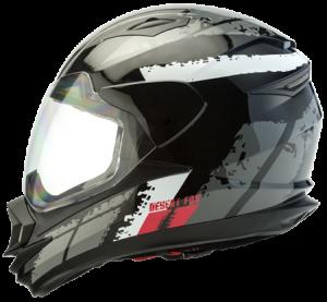 Desert Fox 3.1 motorcycle safety helmet side view full face