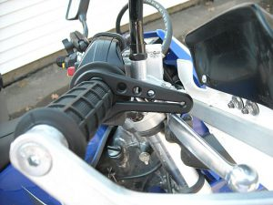 Motorcycle throttle control
