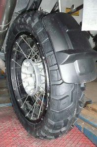 Dual Sport Heidenau rear tyre