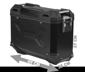45L SW-Motech pannier dimensions