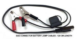 12V Power Point SAE battery clips