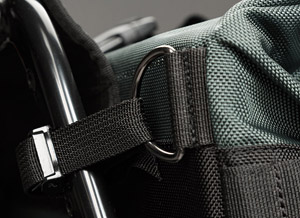 Dakar Freedom Motorcycle side luggage stitch
