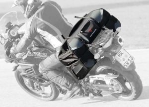 Speedpack wide motorcycle soft luggage