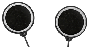 Advanced motorcycle communication system speakers