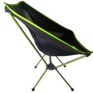 Mini Camping Chair Side View