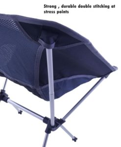camping chair seat cover stitching for high weight carrying