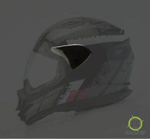 Full Face Convertion Kit Black