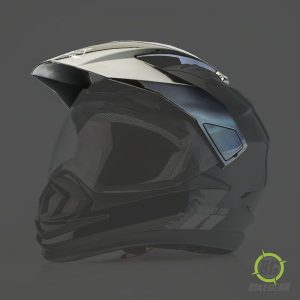 Helmet Peak Black