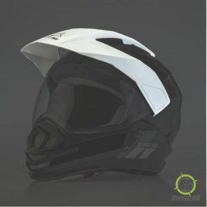 Helmet Peak White
