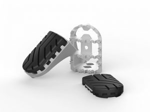 Motorcycle Wider Footpeg Kit