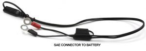 12V Power Point SAE to Battery connector
