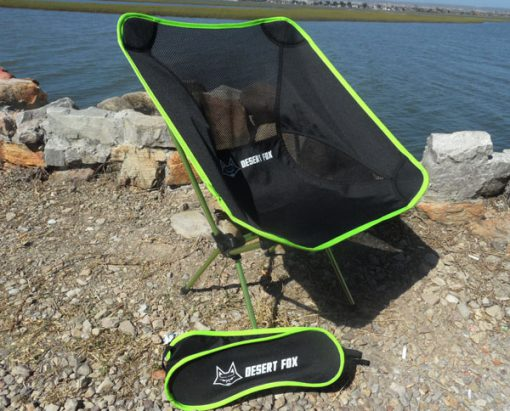 Desert Fox Foldable Camping Chair and Bag