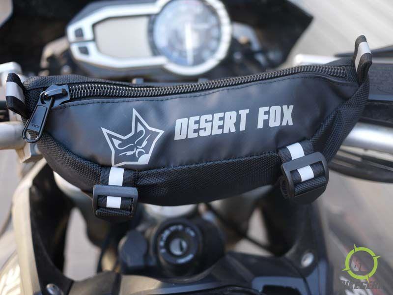 922a815d7ea Desert Fox EzPack Motorcycle Handlebar Bag