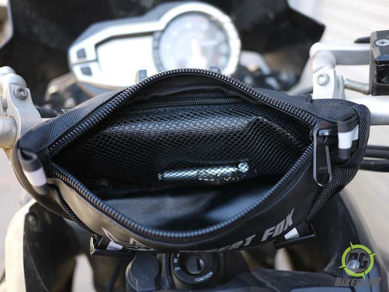Desert Fox Motorcycle Handlebar Bag 6