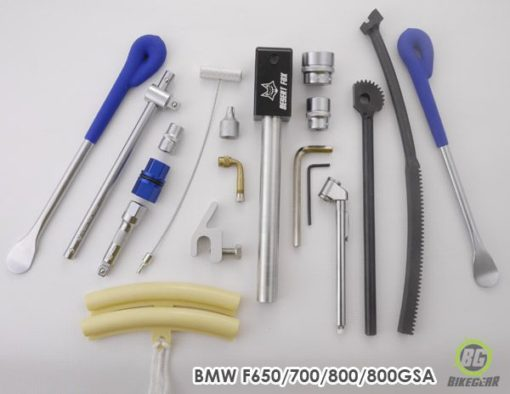 BMW Motorrad F800GS small tyre changing kit