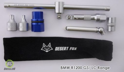 BMW R1200GS wheel removal tool kit