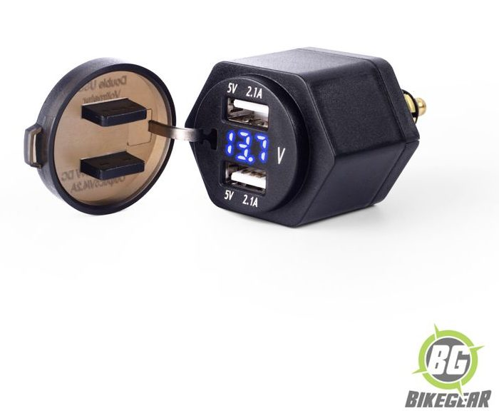 Hella to dual USB with volt meter