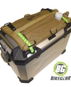 3L flexible motorcycle fuel Bladder on alu pannier