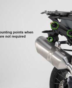 Luggage pannier frames/racks mounting points BMW F 850 G /750 GS