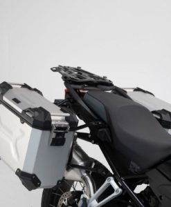 Panniers silver BMW F 750 850 GS
