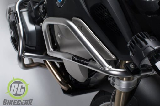 Stainless steel Upper Crash bars BMW R1200GS LC / 1250GS LC side view